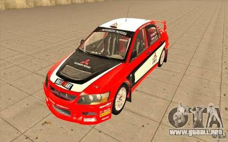 Mitsubishi Lancer Evo IX DiRT2 para GTA San Andreas