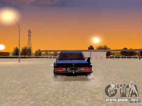 BMW 30 CSL Drift para GTA San Andreas vista posterior izquierda