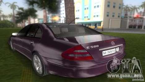 Mercedes E-class E500 para GTA Vice City left