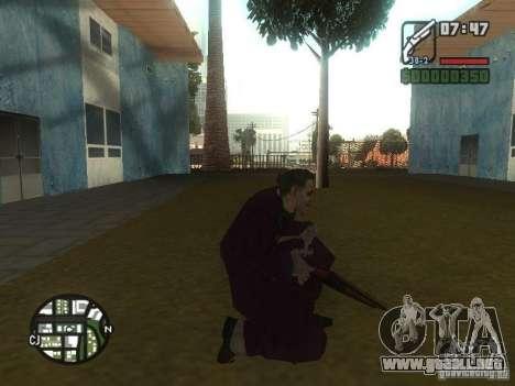 HQ Joker Skin para GTA San Andreas séptima pantalla