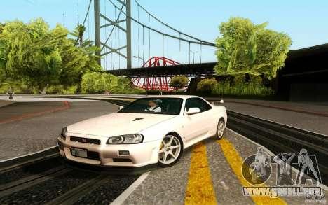New Graphic by musha v3.0 para GTA San Andreas sexta pantalla