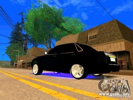 LADA Priora oro 2170 Edition para la visión correcta GTA San Andreas