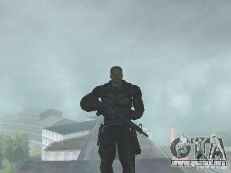 Vagabundo para GTA San Andreas segunda pantalla
