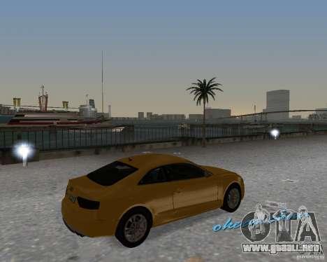 Audi S5 para GTA Vice City visión correcta