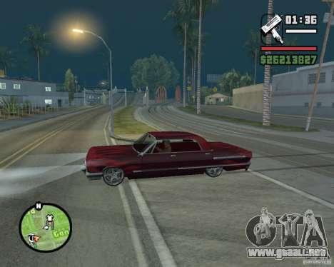 Nuevos iconos de mapa para GTA San Andreas tercera pantalla