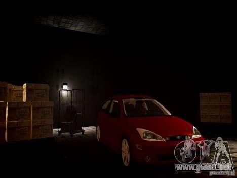 Ford Focus SVT 2003 para GTA 4 visión correcta