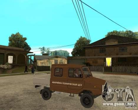 LuAZ-13021-04 para la visión correcta GTA San Andreas