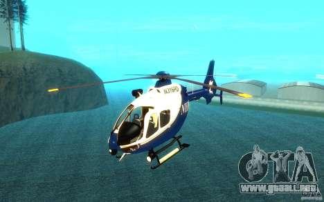 Eurocopter NYPD por SgtMartin_Riggs para GTA San Andreas