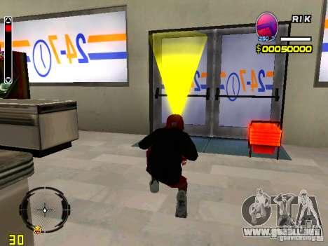 Piel vago v1 para GTA San Andreas sucesivamente de pantalla