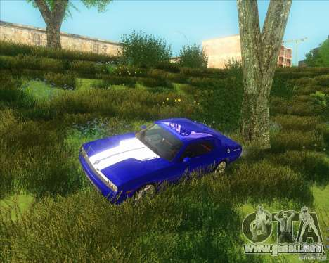 Dodge Challenger concept para GTA San Andreas left