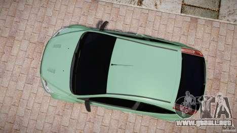 Ford Focus RS para GTA 4 visión correcta