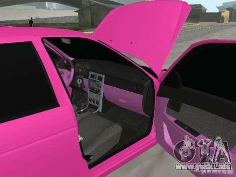 Lada Priora Emo para vista lateral GTA San Andreas