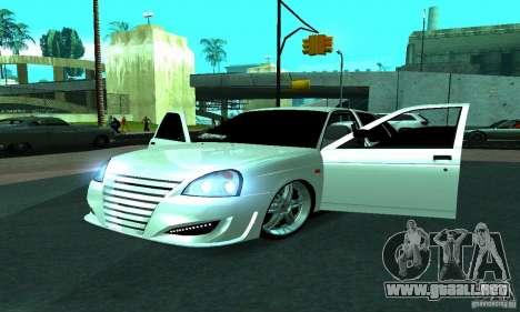 Lada Priora Sport para visión interna GTA San Andreas