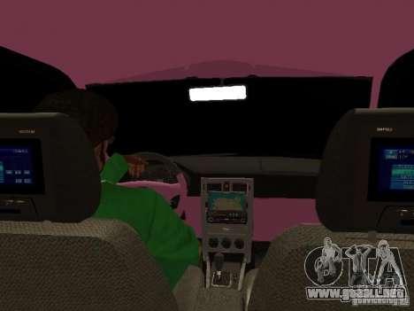 Lada Priora Emo para las ruedas de GTA San Andreas