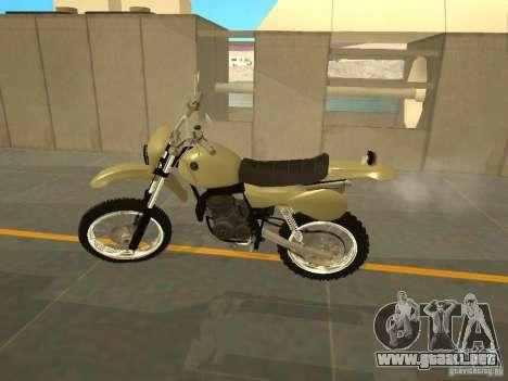 Motocicleta Čezet para GTA San Andreas