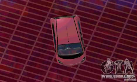 Toyota Aygo V1.0 para GTA San Andreas vista posterior izquierda