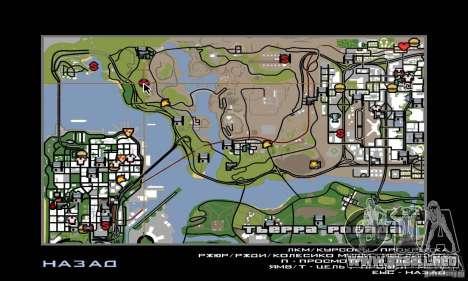 Área en el desierto para GTA San Andreas quinta pantalla