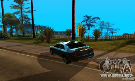 Ford Fusion Sport para GTA San Andreas left
