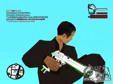 Nuevo Deagle para GTA San Andreas segunda pantalla