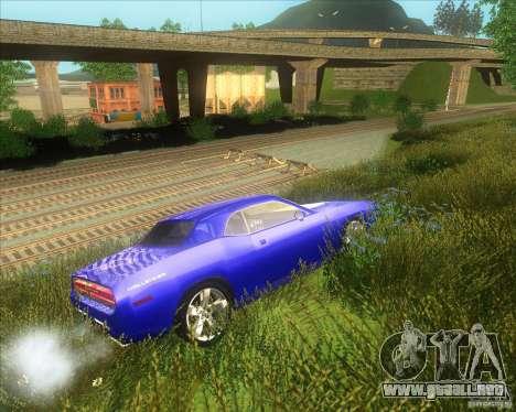 Dodge Challenger concept para la visión correcta GTA San Andreas