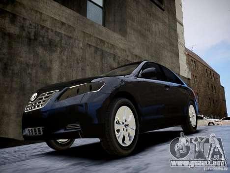Toyota Camry para GTA 4 visión correcta