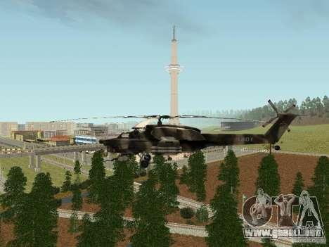 MI 28 HAVOC para la visión correcta GTA San Andreas
