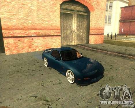 Mazda RX 7 para GTA San Andreas left
