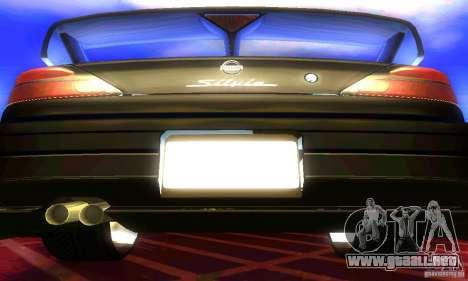 Nissan Silvia S15 8998 Edition Tunable para visión interna GTA San Andreas