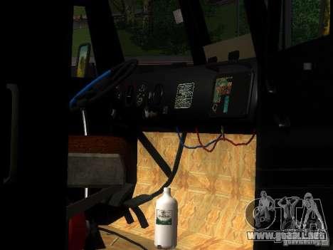 KrAZ-254 para la vista superior GTA San Andreas