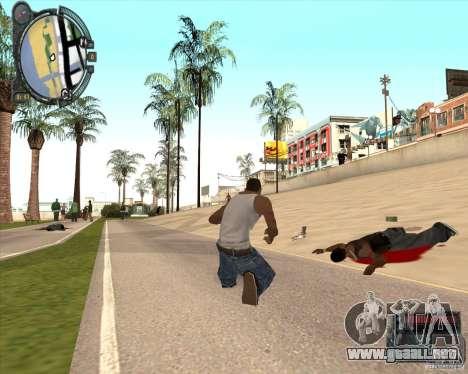 Real Weapons Drop Mod beta para GTA San Andreas tercera pantalla