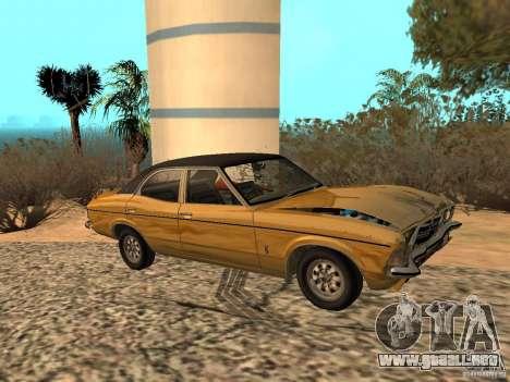 Ford Cortina MK 3 Life On Mars para GTA San Andreas vista hacia atrás