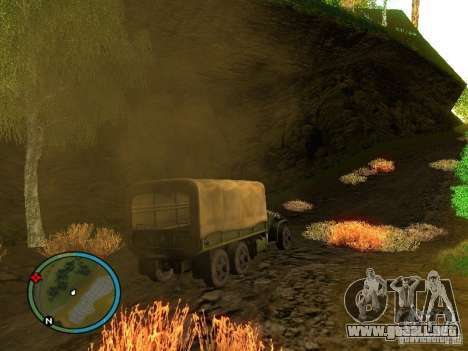 Millitary Truck from Mafia II para la visión correcta GTA San Andreas