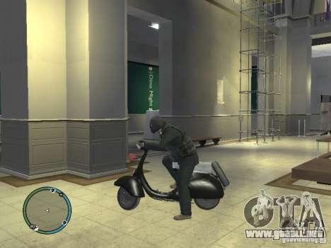 Vyatka moto scooter para GTA 4 left