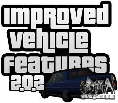 Improved Vehicle Features v2.0.2 (IVF) para GTA San Andreas