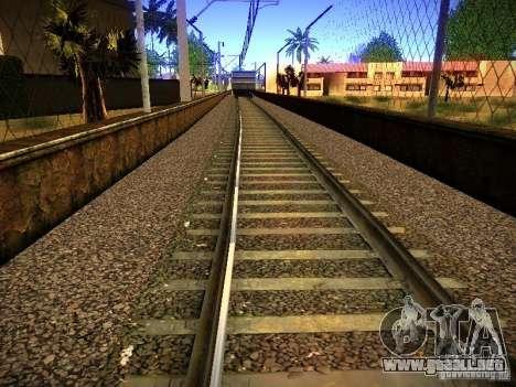 Nuevos carriles para GTA San Andreas octavo de pantalla