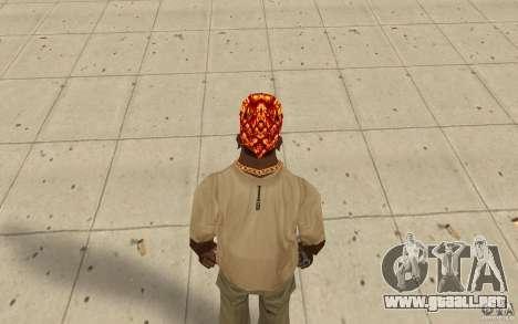 Bandana de Halloween para GTA San Andreas tercera pantalla