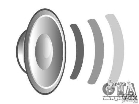 Nuevos sonidos para GTA San Andreas