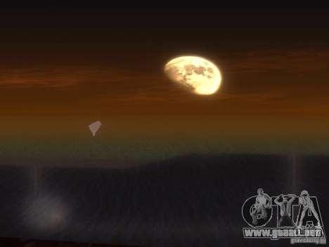 Agua HQ para GTA San Andreas quinta pantalla