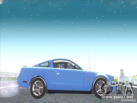 Ford Mustang Pony Edition para GTA San Andreas vista hacia atrás