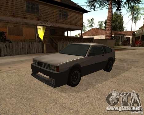 Blistac mejorada para GTA San Andreas