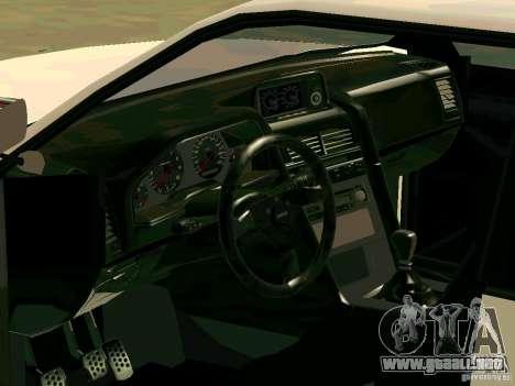 New Sultan v1.0 para GTA San Andreas interior