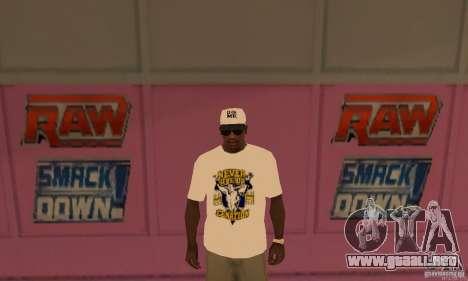 Gorra John Cena para GTA San Andreas