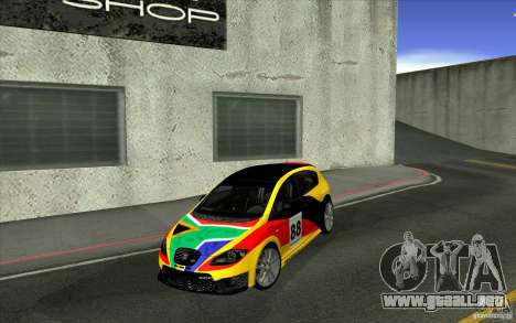 Seat Leon Cupra R para vista lateral GTA San Andreas