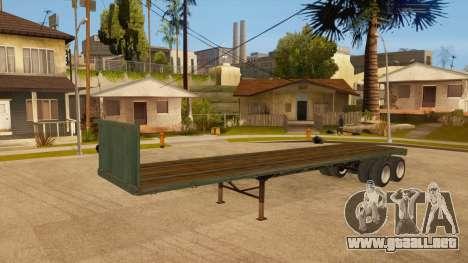 Arrastre para GTA San Andreas vista hacia atrás