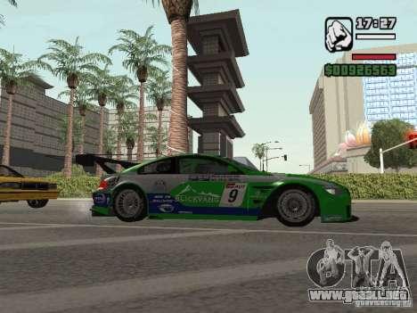 Alpina B6 GT3 para la visión correcta GTA San Andreas