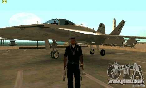 F-18 Super Hornet para GTA San Andreas