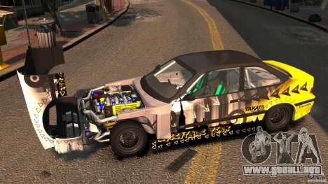 BMW M3 E36 FSC para GTA 4 visión correcta