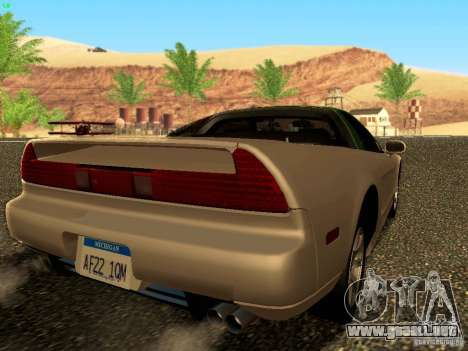 Honda NSX Custom para GTA San Andreas left