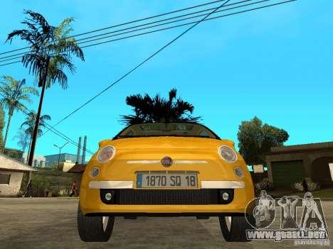 Fiat 500 C para la visión correcta GTA San Andreas