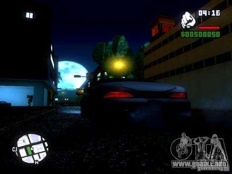 ENBSeries Medium PC para GTA San Andreas tercera pantalla